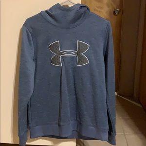 Under Armour denim blue hoodie